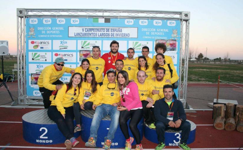 V Campeonato de España de lanzamientoslargos