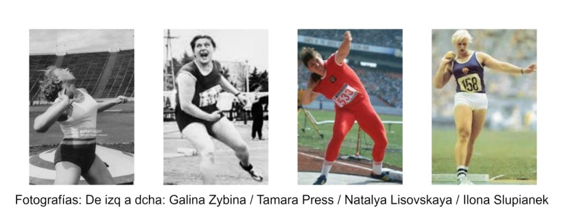 Lanzamiento de Peso Olímpico: 3.Mujeres