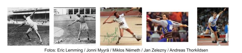 Lanzamiento de Jabalina Olímpica: 10.Hombres